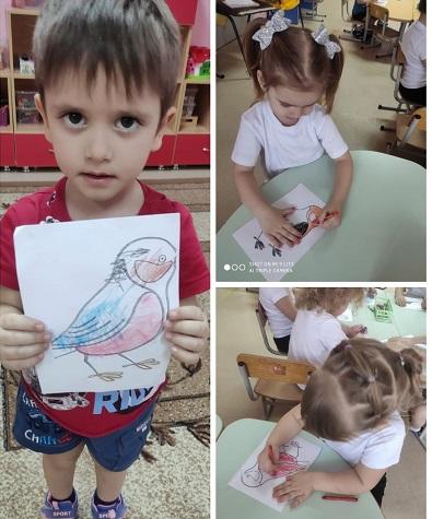 Международный день рисования птиц